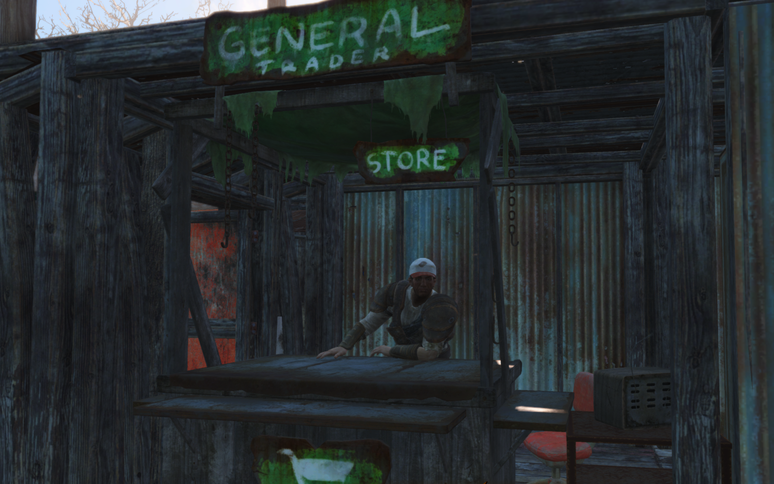 Trade Stands Fallout 4 : Trading post fallout wiki fandom powered by wikia