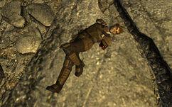 Ranger Morales corpse