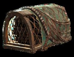 Lobster trap helmet