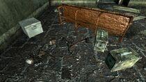Dickerson Tabernacle Chapel skeletton shotgun