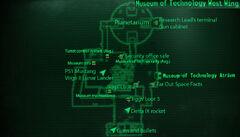 MoT West Wing loc map