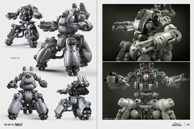 File:Art of Fo4 sentry bot concept art.jpg
