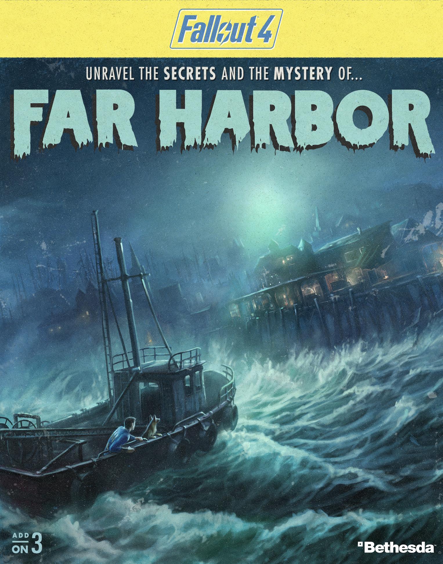 Скачать Fallout 4: Far Harbor бесплатно