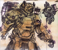 Enclave power armor CA1
