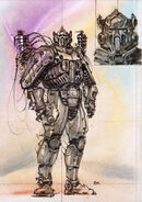 Enclave power armor CA6