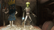 FO4NW Animatronic alien