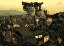 Enclave outpost, North of the Overlook Drive-In.