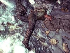 Dead settler