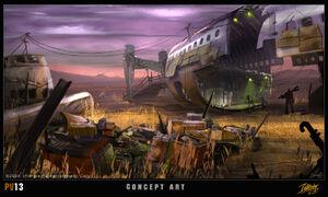 Project V13 concept art 2