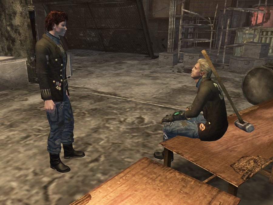 fallout new vegas boomers how to get in