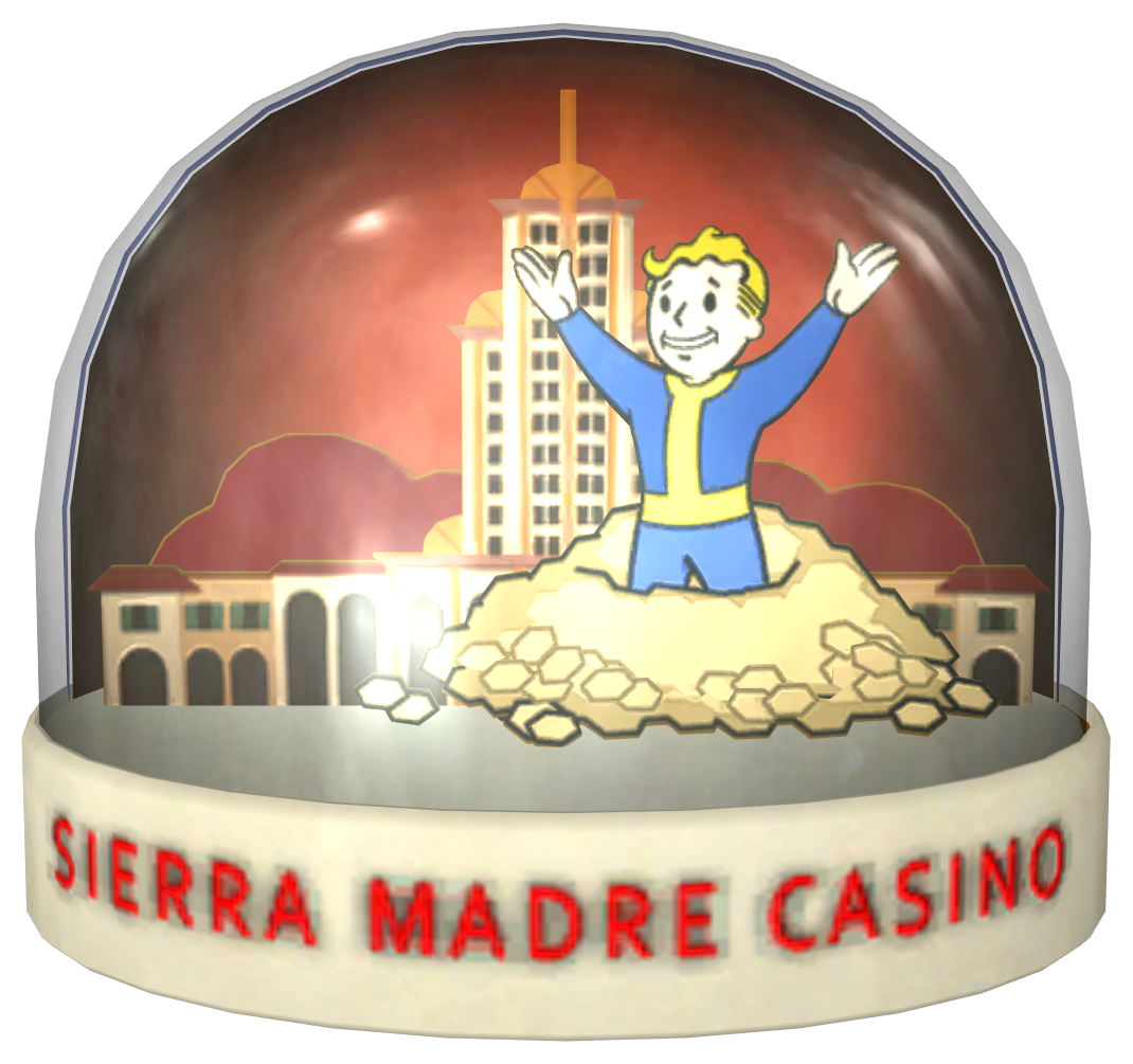 fallout new vegas casino 38 snow globe