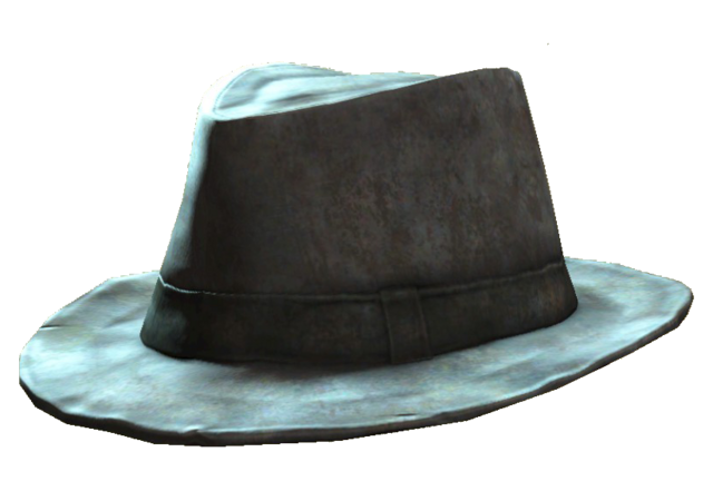 File:Battered fedora.png