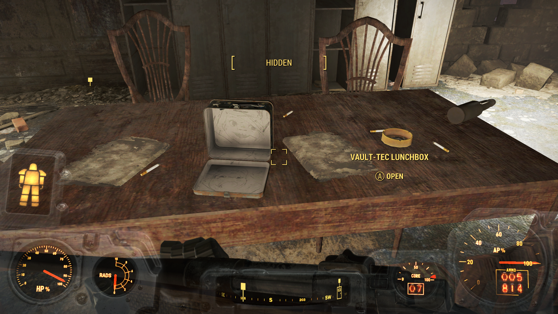 Fallout 3 minefield locked model house
