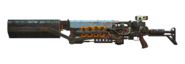 FO4 Recon shielded Gauss rifle