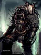Fo4 heavy raider armor concept art