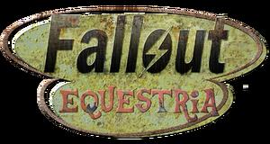 Logo - Fallout Equestria (justmoth)