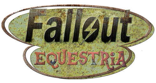 Logo - Fallout Equestria (justmoth)