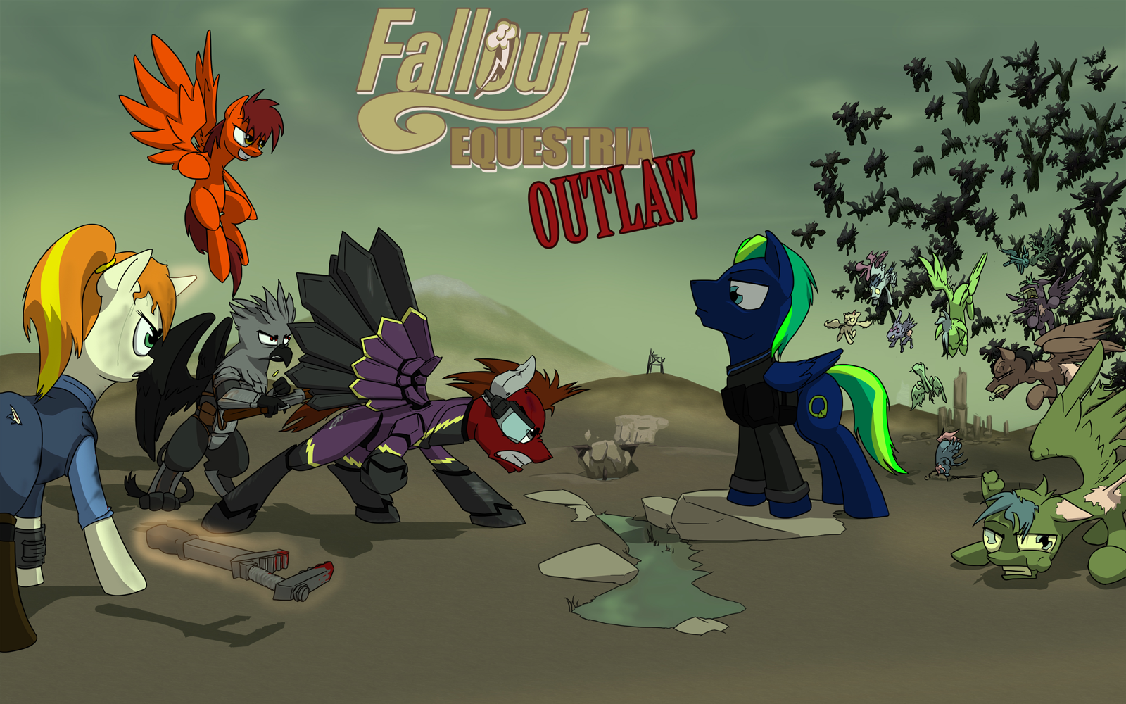 Fallout Equestria Outlaw Fallout Equestria Wiki