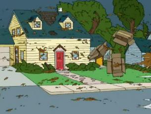 House no shutters