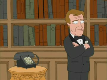 Roger Moore The Saint >> Roger Moore | Family Guy Wiki | Fandom powered by Wikia