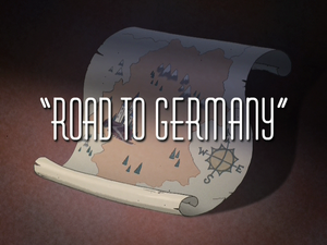 Road to the germany