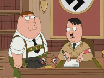 Peter Hitler Family Guy Wiki Fandom Powered By Wikia