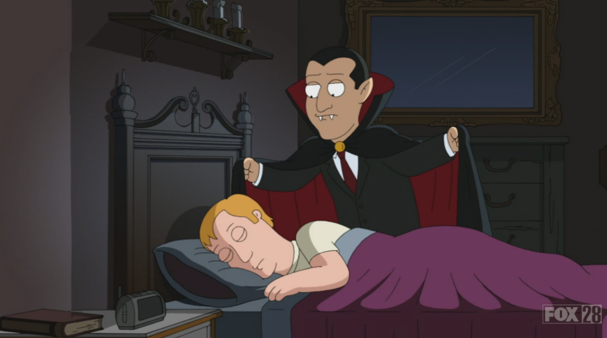count dracula family guy wiki fandom powered by wikia count dracula is a fictional character and the titular antagonist of bram stoker s 1897 gothic horror novel dracula he is described as an archetypal