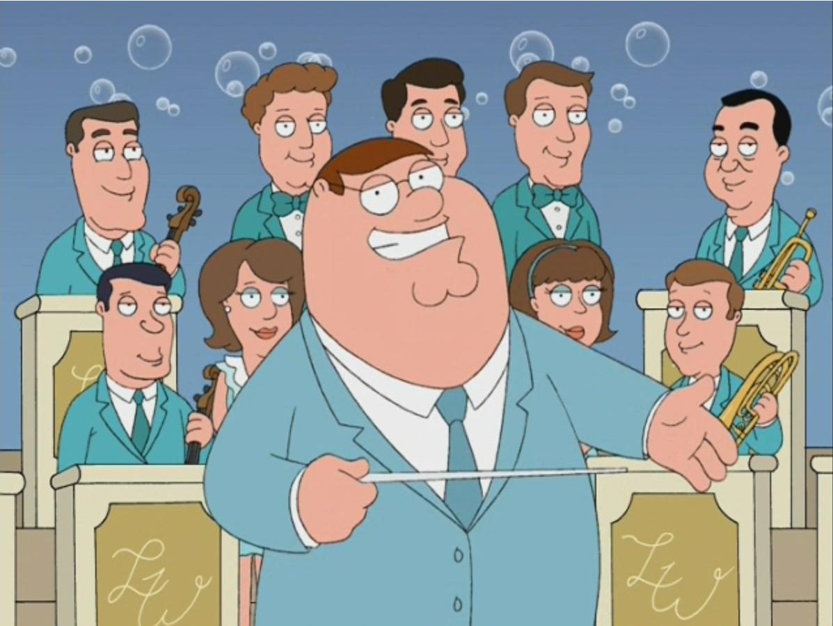 Peter Griffin S Champagne Dance Party Family Guy Wiki
