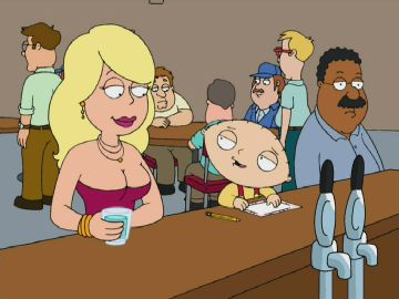 misty from family guy naked