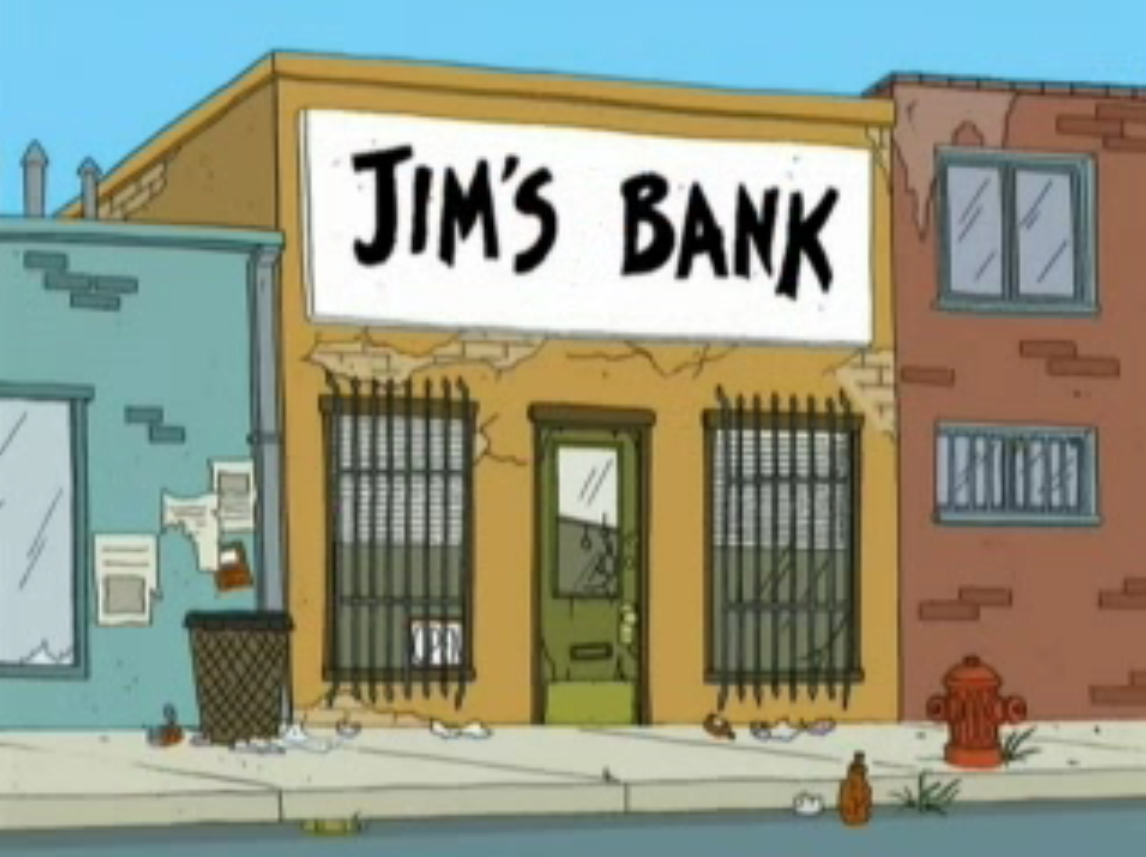 jim s bank family guy wiki fandom powered by wikia
