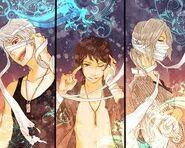 Ichinose, karas, and espada