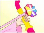 Atsuki using the love arrow