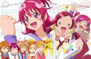Pretty Cure All Stars New Stage Leaders