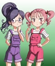 Left reika, right ichigo before transfrom to cure