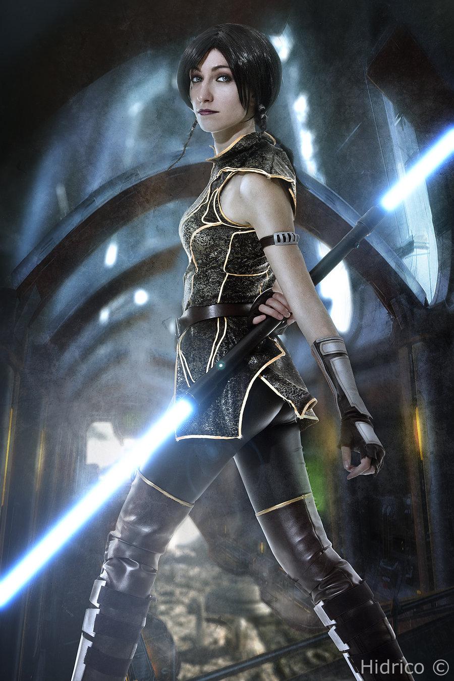 Star wars sexy jedi girls cosplay that