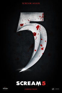 Scream 5 teaser poster by andrewss7-d46rqjm