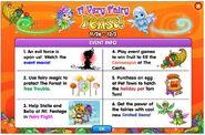Fairy event info