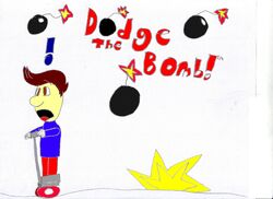 Dodge the Bomb! Poster