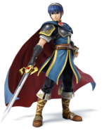 Render marth super smash bros 3ds wiiu by redchampiontrainer01-d6tc71z
