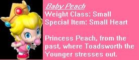 Baby PeachTurbo
