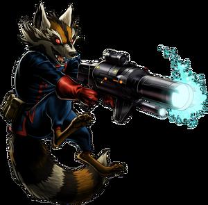 Rocket Raccoon MW2