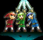 Triforce Heroes Swords