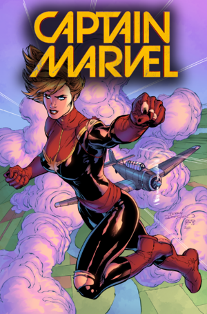 Captain Marvel Game Cover