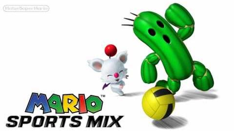 Mario Sports Mix Music - Koopa Troopa Beach