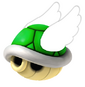 Flying Green Shell
