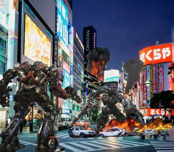 Transformers Gameplay