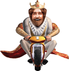 Burger King tricycle racer