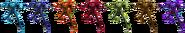 SSBRiot DarkSamus Color Palettes