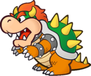 Paper Bowser sprite