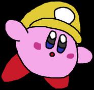 Plumber Kirby - Wario